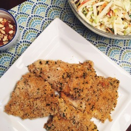 Cajun Panko-Crusted Baked Haddock