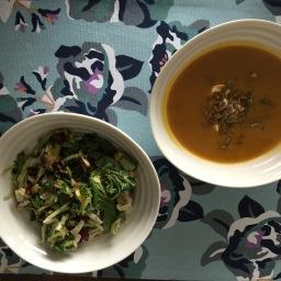 Soup 'er salad?
