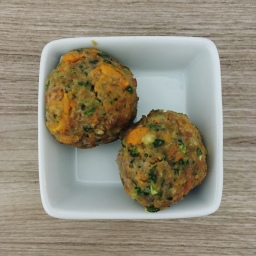 Turkey Meatballs for Baby Led Weaning